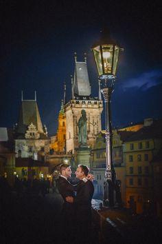 Graham & Wayne post wedding portrait session in Prague by American Photographer Kurt Vinion. Post Wedding, Prague, Wedding Portraits, American, Graham, Painting, Art, Art Background, Painting Art
