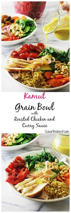 kamut grain Bowl