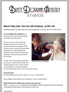 Check out this Black Friday Special - 50% off!