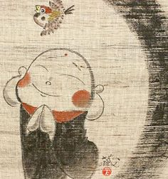Japanese Noren Curtain zen buddhism jizo11