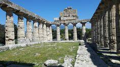 Tempio dorici detto di Cerere, di Athena.  Fine del VI sec. a.C. Paestum