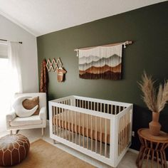 Boho Nursery, Nursery Modern, Baby Nursery Decor, Nursery Design, Baby Decor, Nursery Room, Project Nursery, Baby Boy Rooms, Baby Boy Nurseries