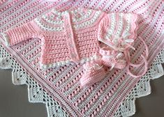 Ravelry: Pearls & Lace Sweater PDF14-138 pattern by Maria Bittner