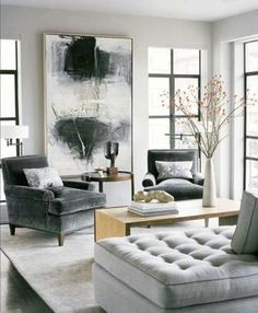 Angelina black spindlefabric shade floor lamp 0000005267347 angelina large black table lamp 0000005267392 see more fall warm gray living room design mozeypictures Image collections