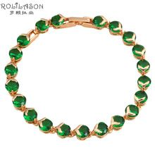 US $6.06     Buy Jewelry At Wholesale Prices!     FREE Shipping Worldwide     Buy one here---> http://jewelry-steals.com/products/deep-green-peridot-crystal-gold-tone-wonder-charm-bracelets-the-special-gift-for-christmas-health-fashion-jewelry-tb812/    #necklaces