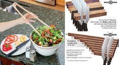 Magnetic Knife Holder, Magnetic Knife Strip, Wood Surface, Wood Species, Natural Wood, Craftsman, Hardwood, Cleaning, Easy