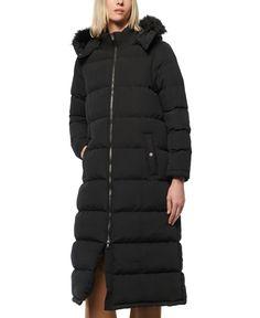 Plus Size Outerwear, Plus Size Coats, Long Puffer Coat, Coats For Women, Ladies Coats, Puffer Jackets, Fur Trim, Faux Fur, Moda Femenina