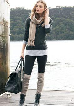 long-socks-winter -trend   Fashion Tag