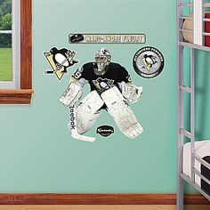 Fathead Pittsburgh Penguins Marc Andre Fleury Wall Graphic