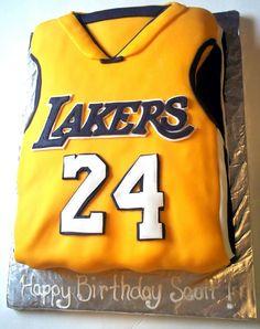 Los Angeles Lakers Birthday Cake