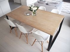 Dining area / Dining table / eames chair / dsw