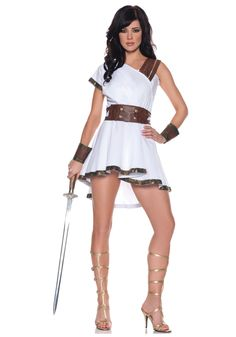Greek Olympia Costume - Women's Sexy Toga Costume Ideas