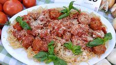 My Mama's Meatballs {Rocco DiSpirito} Enjoy This Healthy Family Recipe