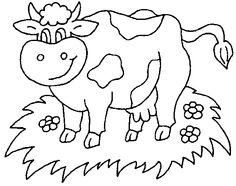 vaca - desenhos para colorir (4)