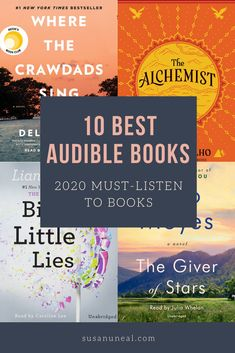 10 Best Audiobooks to Listen to in 2020 I Love Books, Good Books, Books To Read, Best Audible Books, Audio Books App, Public Domain Books, Historical Romance Novels, Best Audiobooks, Personal Development Books
