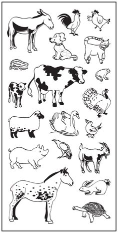 Craft Stamps: Decorative Clear and Rubber Stamps Animal Crackers, Clear Stamps, Adult Coloring, Garden Tools, Craft Supplies, Cool Designs, Moose Art, Drawings, Crafts