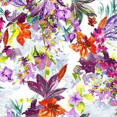 #santaconstancia #flowers #fabric #print
