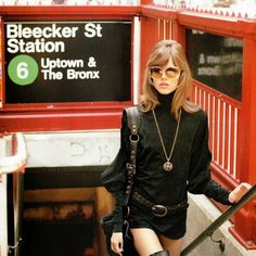 """Our Odd, Revealing Obsession With """"Gritty"""" Photos of the NYC Subway Jane Fonda in NYC – tough chick with amazing talent Style Bobo Chic, Style Année 70, Looks Style, Nyc Subway, Jane Fonda, 70s Inspired Fashion, 1960s Fashion, Vintage Fashion, Retro Mode"""