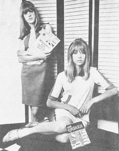 YouthQuake!  Pattie & Jenny Boyd from The Boyd Sisters website