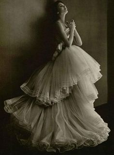 Vintage Christian Dior Haute Couture Spring 1950