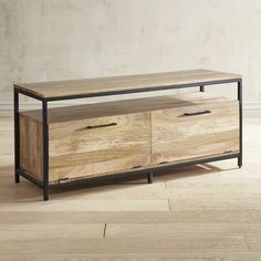"Takat Natural Mango Wood 49"" TV Stand 