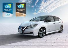 """Dünyanın en çok satan elektrikli otomobili Nissan LEAF, Tüketici Teknolojisi Derneği tarafından verilen """"CES 2018 En iyi İnovasyon"""" ödülünü kazandı."""