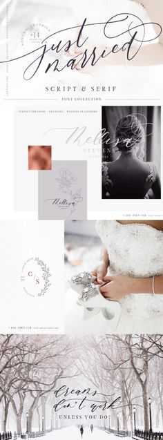 Ideas For Wedding Design Logo Script Fonts Lettering Design, Hand Lettering, Logo Design, Graphic Design, Simple Wedding Invitations, Wedding Stationery, Typography Fonts, Script Fonts, Wedding Script