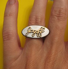 Jagoff Ring by jewelrynat on Etsy, $90.00 Pittsburgh Food, Heart Ring, Gemstone Rings, Gemstones, Unique Jewelry, Handmade Gifts, Posts, Accessories, Etsy