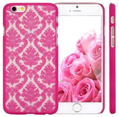 """iPhone 6 Case KINGCOOL(TM) Retro Flower Damask Design Slim Fit Case Cover for Apple iPhone 6 4.7""""(Rose) Designed specially for Apple iPhone 6 4.7"""" Fashionable design makes your phone stand out! Slim, form-fitting and lightweight Provides great protection with easy installation Access to all controls, buttons and camera holes"""