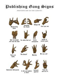 Ghetto hand gestures