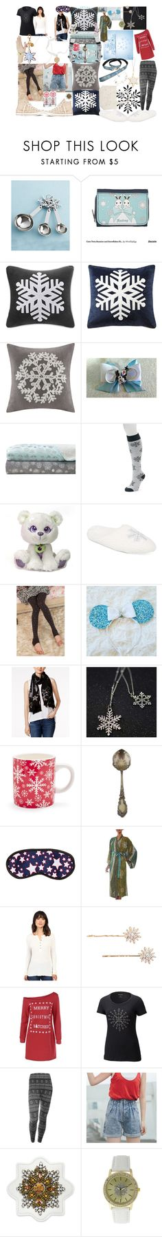 """""""almost winter woman"""" by lerp ❤ liked on Polyvore featuring Kate Aspen, Madison Park, Premier Comfort, SO, Charter Club, Little Flower, Converse, INC International Concepts, Sur La Table and NOVICA"""