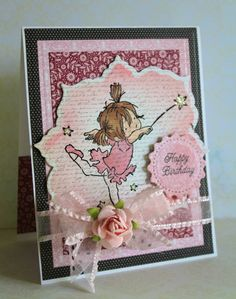 Birthday card by Victorian Paper Queen