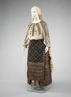 Romanian ensemble via The Costume Institute of the Metropolitan Museum of Art