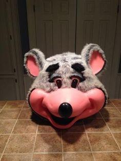 Chuck E. Cheese Costume, Showbiz Pizza, Chuck E Cheese, Fursuit, Mascot Costumes, Arcade, Christmas Decor, Theater, Teatro