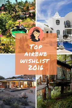 They all have one thing in common: extreme bragging rights.  Last week #Airbnb unveiled its top Wish Listed destinations and properties around the world. After digging through the spots saved by millions of guests since the feature was launched in 2012, Airbnb arrived at the wish list to end all wish lists.