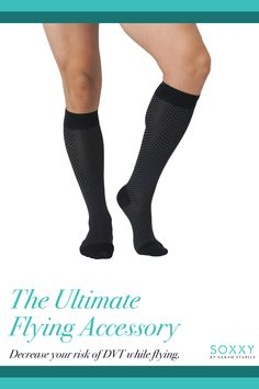 bbf52dc026 MEN, what type of socks do you wear when you fly? Try Soxxy's stylish  travel compression sox and your legs will thank you .