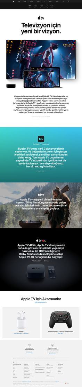 Apple Commercial, Apple Tv