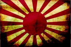 This was the flag of Imperial Japan during World War Two.