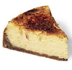 Creme Brulee Cheesecake- heaven!!!