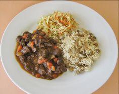 Bajan Rice & Stew