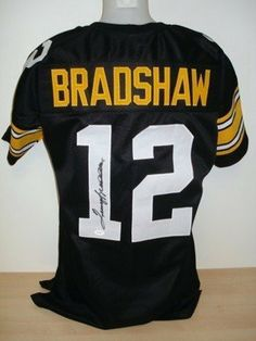 86beed36e55 Terry Bradshaw Signed Autographed Pro-Style Custom Jersey JSA Holo + SI .   275.00. Featured is a Terry Bradshaw Signed Pittsburgh Steelers custom  black ...