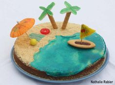3rd Birthday, Happy Birthday, Birthday Parties, Wave Cake, Pirate Party, Cake Cookies, Cooking Time, Cake Decorating, Favors