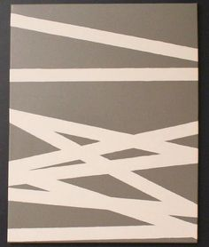 Spray paint canvas for living room?