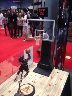 #NewYorkComicCon #NYC #EnterbayUSA #Booth #ChicagoBulls #BasketballHoops #NBA #23