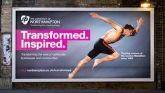 Transformed. Inspired. Running Man Billboard