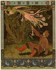 ivan-bilibin-firebird-russian-fairy-tale.jpg (350×441)