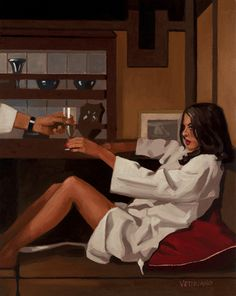 Man of Mystery II by Jack Vettriano