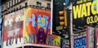 Broadway ranges from 7th Avenue to 8th Avenue and overlaps Broadway. It also runs from West 53rd to West 41st Street. Broadway also contains the famous Times Square on its southwestern end. Radio City Music Hall is just west of the main Broadway drag as is the Rockefeller Center.