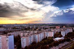 Photograph Sunset in Malinovka, Minsk by Dmitry Kurilo on 500px