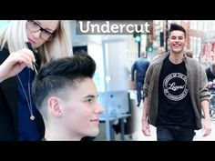 Undercut Quiff Hairstyle ☆ Professional hairstyling tips for men ☆ By Slikhaar TV - YouTube